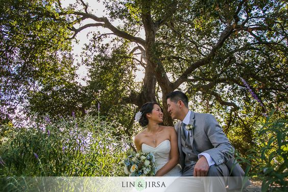Los Angeles Arboretum Wedding in Arcadia | Vay and Jen