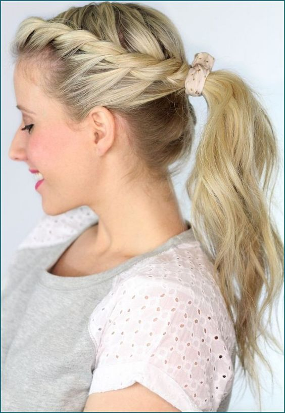 Ponytail wedding hairstyles are versatile to wear whether it's for traditional, classic, vintage, or anything you desire and considered as the best reflector of the personality of any person either it is a common man of a celebrity.