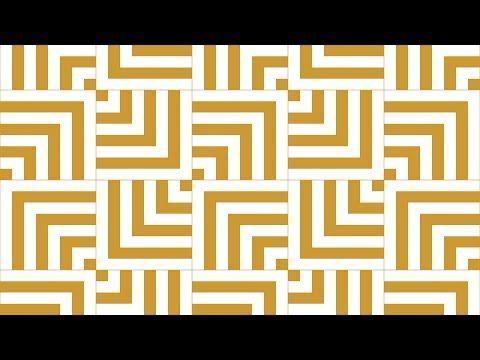 Design Patterns Tile Patterns Geometric Patterns Corel Draw Tutorials 025 Youtube