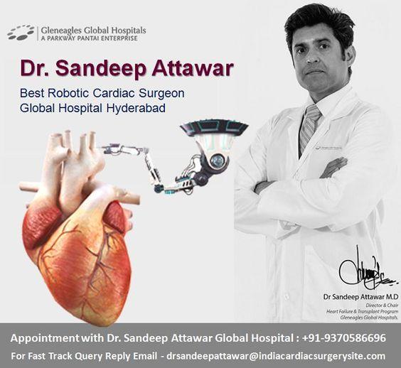 Dr Sandeep Attawar Robotic Cardiac Surgery India