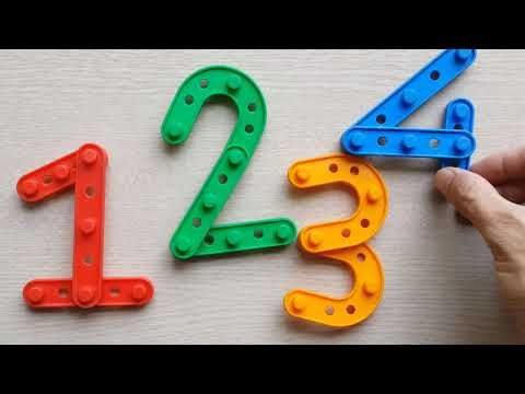 Learn Numbers Drawing And Coloring Numbers 0 1 2 3 4 5 6 7 8 9 10