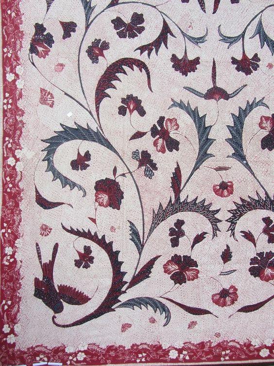 Banyumasan Batik. Handrawn and vintage from Central Java, Indonesian ...