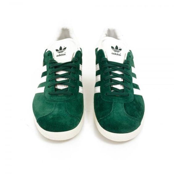 Adidas Originals Online | Gazelle Green Suede Shoes
