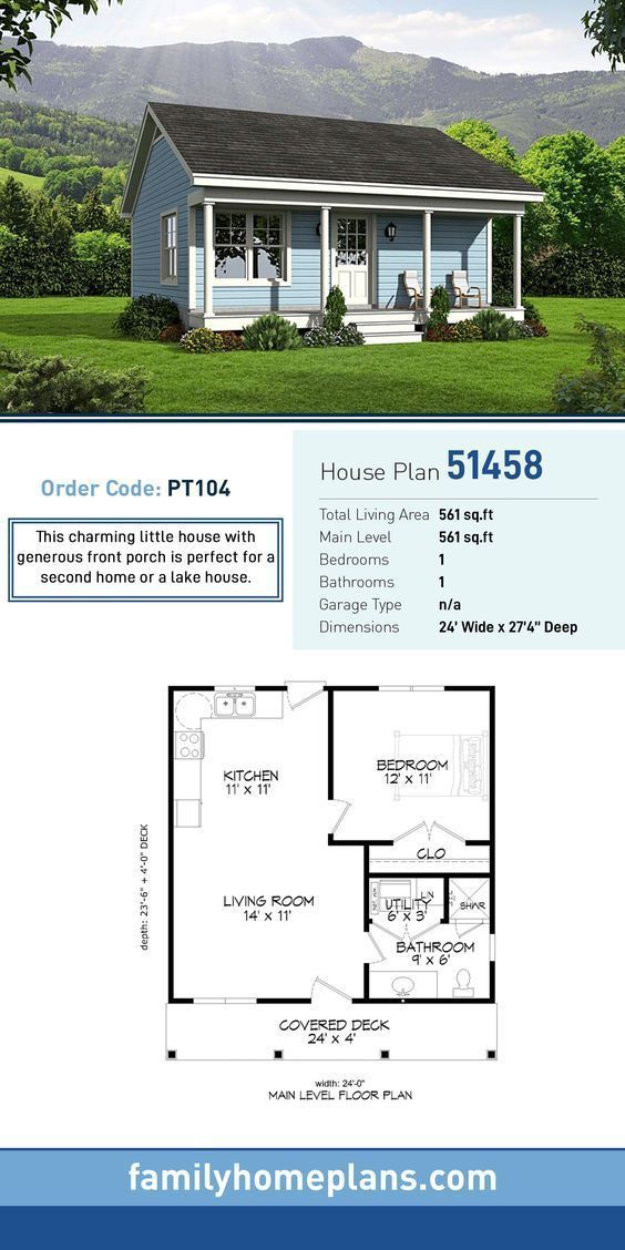Top Two Tiny House Plans On Pinterest Family Home Plans Blog Ranch Style House Plans Tiny House Floor Plans Cottage House Plans