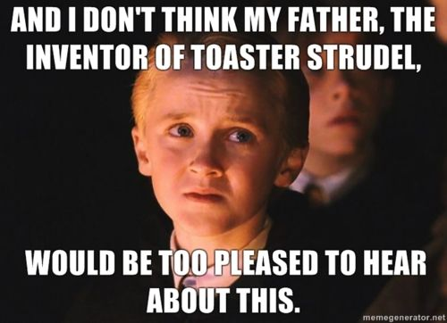 : Harrypotter, Girls Harry, Meangirls, Mean Girls, Girls Quote, Harry Potter, Toaster Strudel, Gretchen Weiners, Mean Girl Quotes