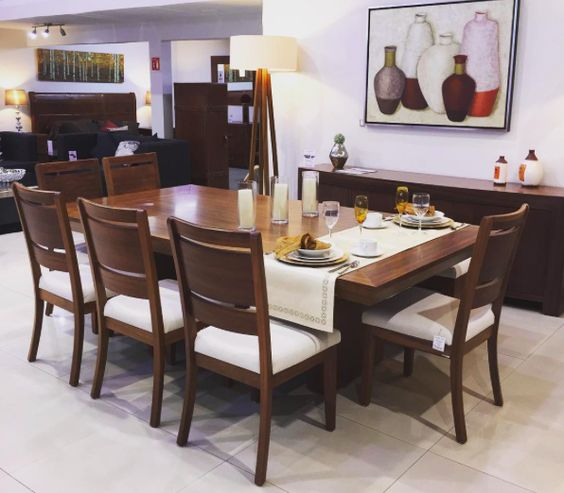 Comedor mod albardon elaborado con madera de tzalam una for Comedor decoracion