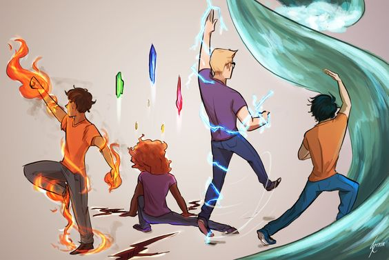Elemental  Add on by another user: *cough* Percy *cough* Jackson *cough*