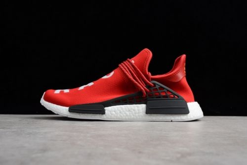 Authentic Pharrell x adidas NMD Human Race Red and White