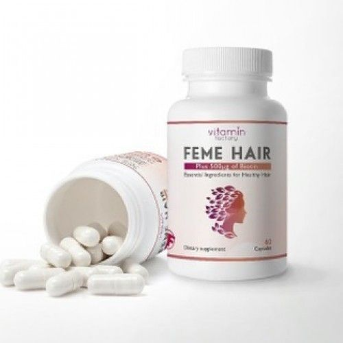 حبوب Feme Hair النهدي Hair Vitamins Vitamins Hair