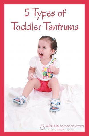 5 Types of Toddler Tantrums