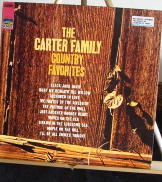 Country Favourites Carter Family