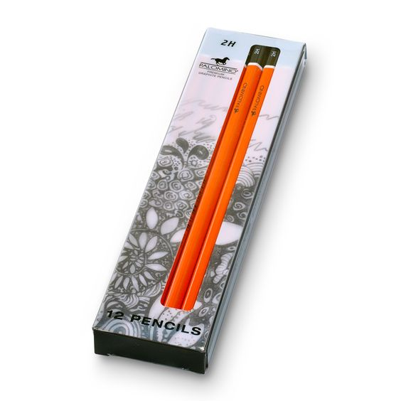 Available grades include 2H, H, HB, B, 2B, 4B & 6B. Palomino graded graphite pencils are also available in a mixed grade set containing all seven grades.