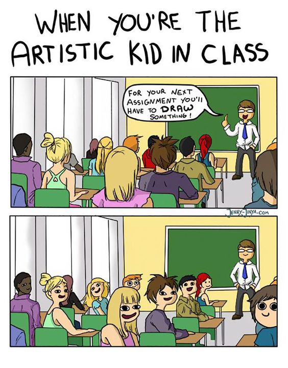 87 Hilarious Comics That Perfectly Describe The Life Of An Artist