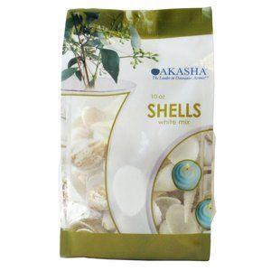 Akasha White Decorative Shells