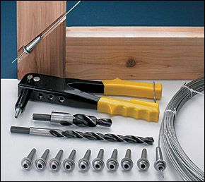 Wire Tensioning System - Lee Valley Tools