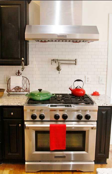 Starmark Buttercream Cabinets With Zodiaq Mossy Green Quartz, KitchenAid  Stainless Steel Appliances. | Soft White Kitchens | Pinterest | KitchenAid  And ...