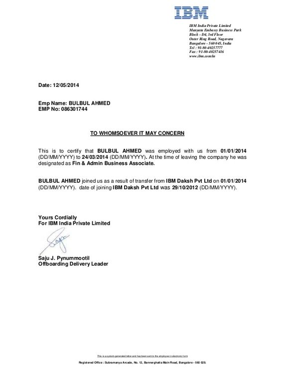 Dhamesh Madhesia (dhameshm) on Pinterest - job certificate format