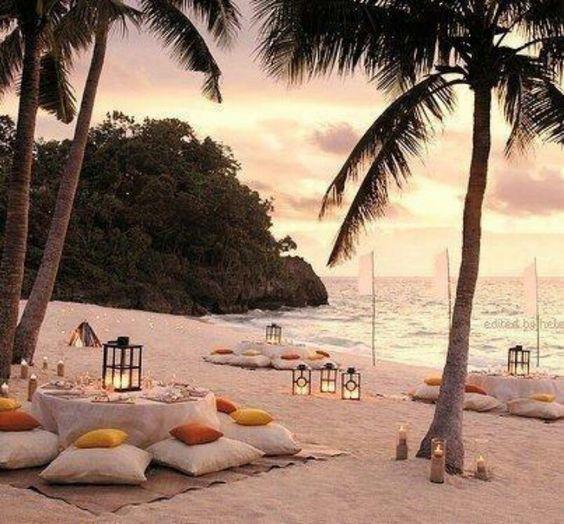 Mru casamento na praia: