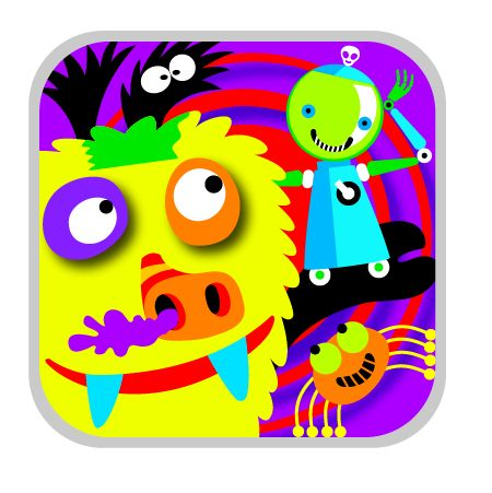MONSTERS MIXER app ICON MONSTERS MIXER the NEW
