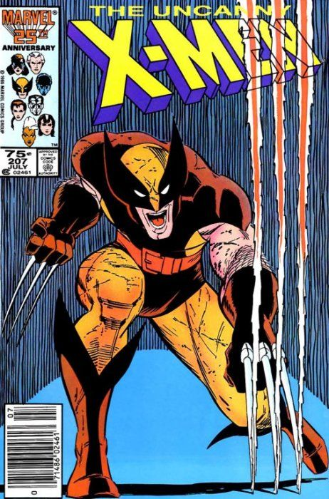 Uncanny X-men #207, by John Romita Jr. (Featuring Wolverine)