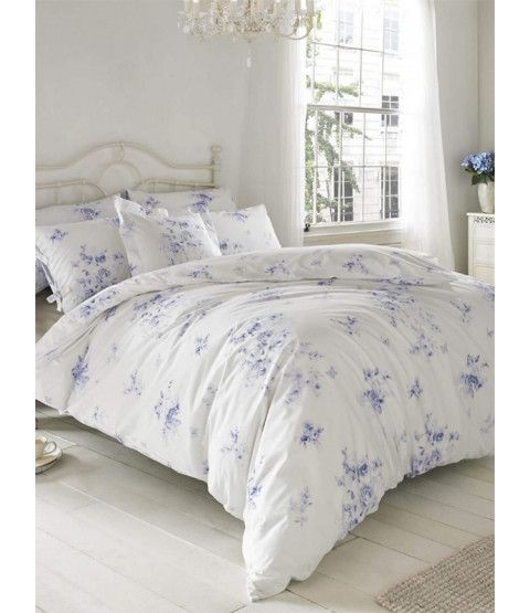 This Holly Willoughby Olivia Wedgewood Blue Double Duvet Cover