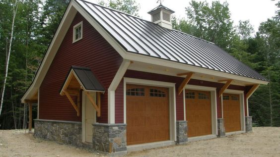 Home hardware carriage house plans house design plans for Post and beam carriage house plans