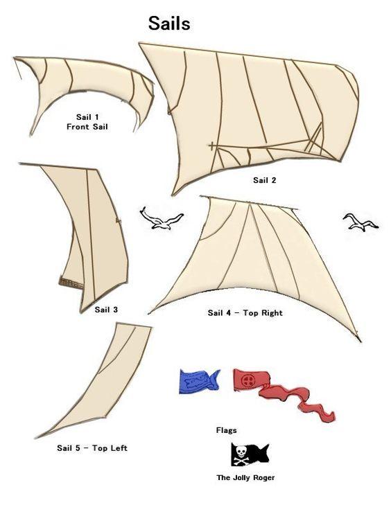 how to make sailing ship
