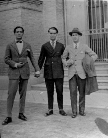 Dalí-Lorca-Bello... En la Residencia de Estudiantes. madrid