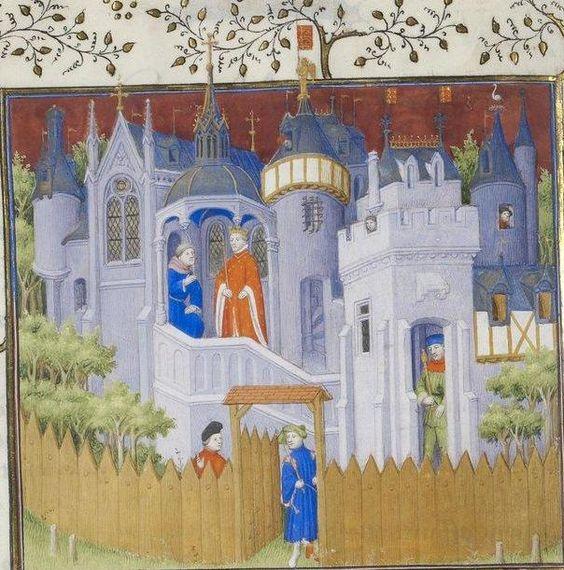 Pierre Salmon, Réponses à Charles VI.., 1409-1410, 60v http://www.europeanaregia.eu/en/manuscripts/paris-bibliotheque-nationale-france-mss-francais-23279/en