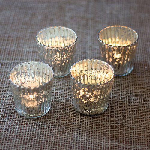 Luna Bazaar Vintage Mercury Glass Candle Holders (3-Inch,... https://www.amazon.com/dp/B00KKPET4S/ref=cm_sw_r_pi_dp_.OAExb5SEPTG3