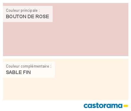 Castorama nuancier peinture mon harmonie peinture bouton de rose satin de t - Tollens prestige premium ...
