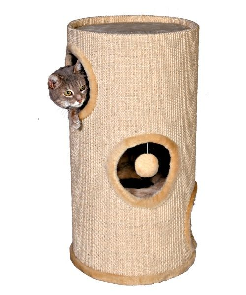 TRIXIE 3-Story Cat Tower - Cat Scratching Posts at Hayneedle