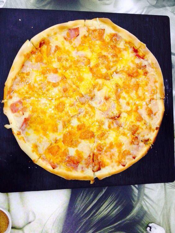 """Pizza para nuestras """"Tardes de pizza"""""""