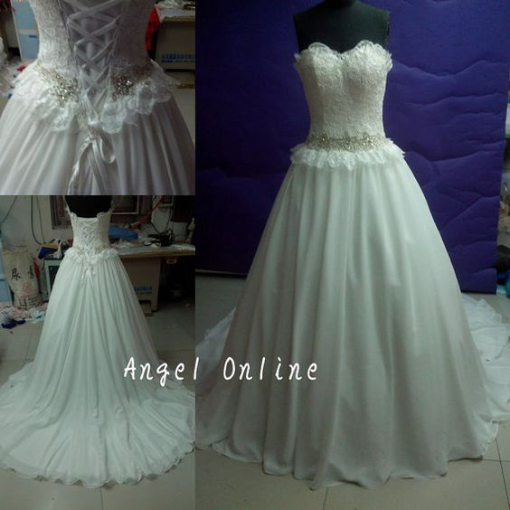 2014 newest hot sale elegant real made sexy by Angelonlinedress