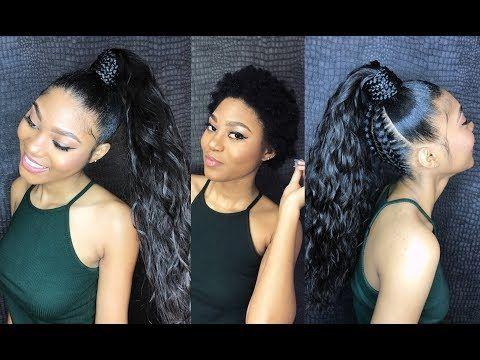 9 How To Do A Sleek High Ponytail On Short Natural Hair Vip Beauty Hair Youtube Sleek Ponytail Natural Hair Styles Short Natural Hair Styles
