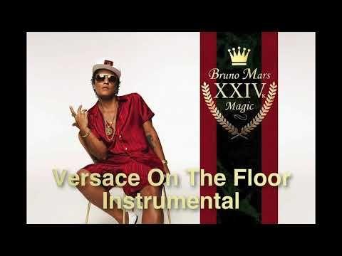 Bruno Mars Versace On The Floor Instrumental Youtube Bruno Mars Versace On The Floor Album Of The Year