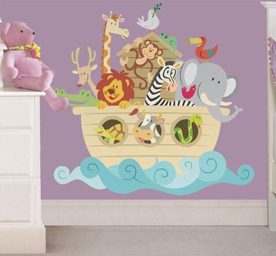 Cuartos de bebe decorados con el arca de <<noÉ   buscar con google ...