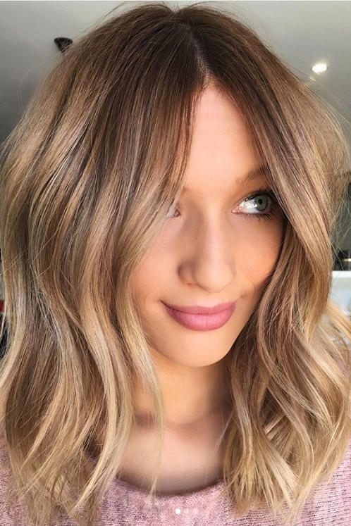 15 Winter Hair Colors We Re Swooning Over Already Winter Hairstyles Winter Hair Color Honey Blonde Hair