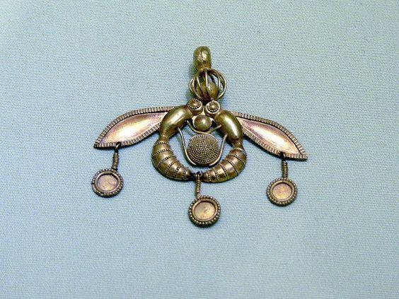 Jóias da Grécia Antiga - Abelhas da Malia