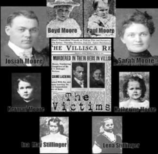 Villisca Axe Murders June 1912 Still an unsolved case to this day.