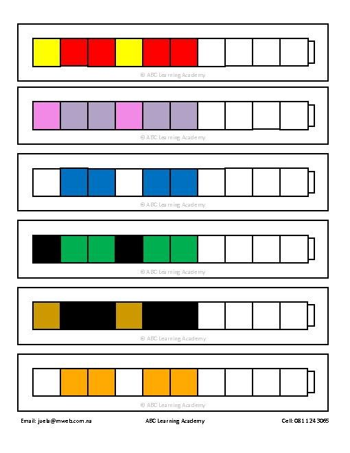 Printables Unifix Cubes Worksheets unifix cubes worksheets davezan