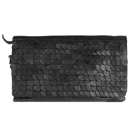 Cowboysbag Shildon Clutch Leder 28 cm, black