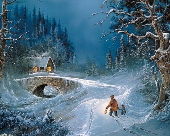 Draw me an artist, snow - winter fairy !. Discussion on LiveInternet - Russian Service Online Diaries