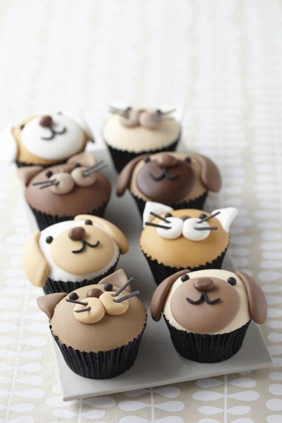 animal lover/vet tech cupcakes!