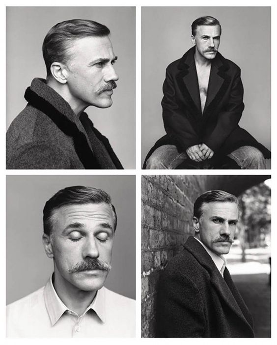 Christoph Waltz Covers Fantastic Man Fall 2014
