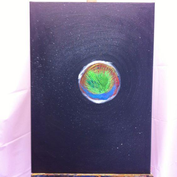 Malerei - Genesis - Entwurf von Stenor