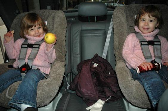 Car Seats and big coats = Not safe.