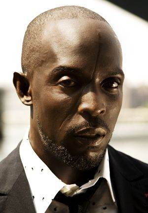 Michael K. Williams -- have you seen The Wire? My favorite actor! A must watch!