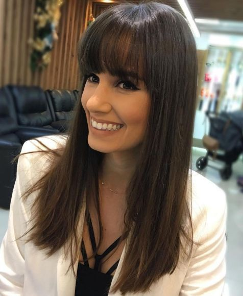 40 Long Hairstyles And Haircuts For Fine Hair In 2020 Haircuts For Fine Hair Thin Straight Hair Long Hair With Bangs