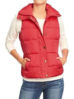 Frost free vest outfit women
